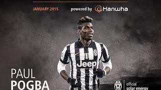Paul Pogba - Amazing Skills Show January 2015 | MVP of the month powered by Hanwha
