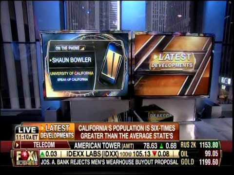 Six Californias Tim Draper Shaun Bowler Fox Business 12/23/13