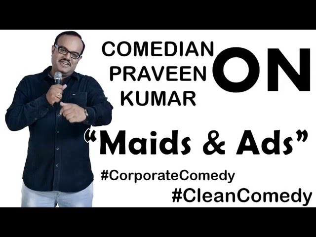 Hey Guys! Here is My New Stand Up video from my corporate shows, where I talk about the annoying Indian Advertisements and The Indian Maids. Please Watch it and Feel free to let me know your thoughts in the comments section