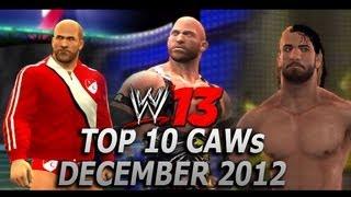 WWE '13 Top 10 CAWs: December 2012