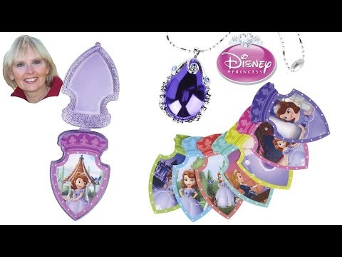 ♥♥ Sofia the First Talking Magical Amulet