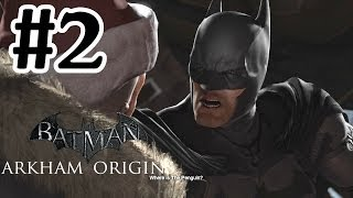 Batman Arkham Origins Gameplay Part 2 Penguins Hideout