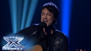 """Daniel"" Hits Home For Jeff Gutt THE X FACTOR USA 2013"