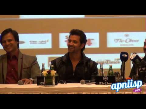 Krrish 3 Press Conference in Dubai (ApniISP.Com)