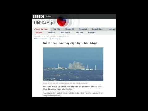 12-03-2011 - BBC Vietnamese - Nổ lớn tại nhà máy điện hạt nhân Nhật
