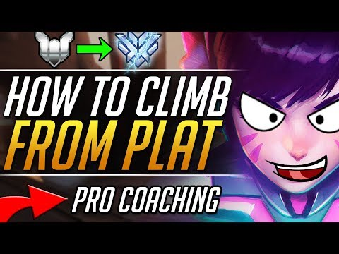 STUCK IN PLAT - DVA Gameplay Tips and Tricks | Overwatch Guide
