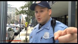 Washington D.C Police Officer VIOLATES Policy, CONFRONTS