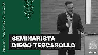 Seminarista Diego Tescarollo