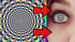 7 Video ảo giác cực mạnh làm thay đổi màu mắt của bạn! 99% mọi người sẽ bị thay đổi!!