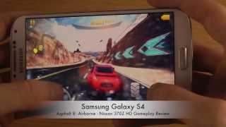 Asphalt 8: Airborne - Nissan 370Z Samsung Galaxy S4 HD Gameplay Review