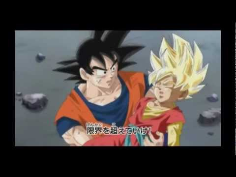Dragonball Heroes: Return of Broly and Hero becomes a Super Sayain(original)