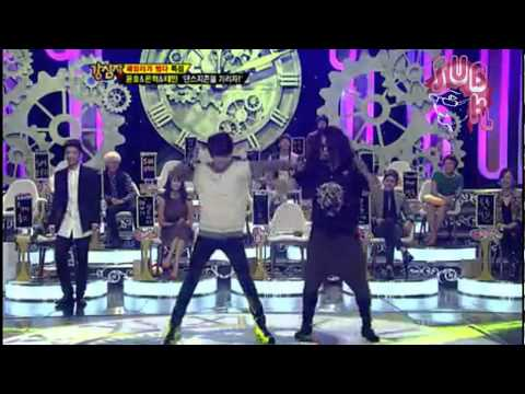 121113 Strong Heart Ep 154 &quot;Taemin dancing Only One with ShinDong &quot;, 121113 Strong Heart ep 154 &quot; dancing Only One with ShinDong &quot; TVXQ, SHINee, SNSD, Super Junior Cr:Luzsubk, 2ndLuzsubk, 3ndLuzsubk and 4toLuzsubk BoA _-O...