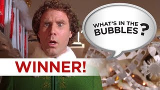 What's in the Bubbles Winner! - Elf - Can you do better? Go To WhatsInTheBubbles Channel