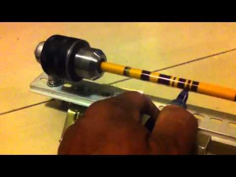 arrow cresting machine
