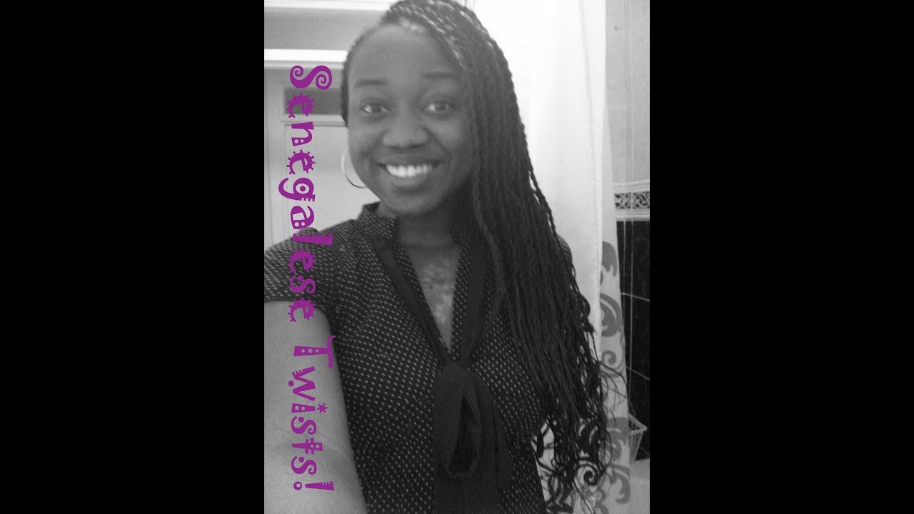 Senegalese Twist Braids Hairstyles