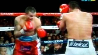 Terrible Morales vs Chino Maidana Round 9 Emocionante