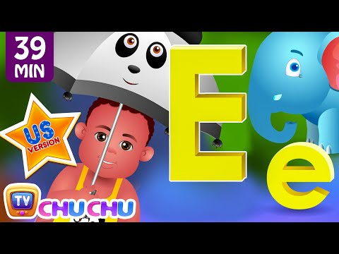 ChuChu TV Nursery Rhymes - US Voice Version Vol.3 | Rain Rain Go Away, ABC Phonics & More Kids Songs