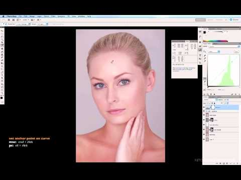 Skin Colour Correction Using Curves in Photoshop CS5