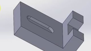 SolidWorks2015 Extrude Boss Cut Sample 1