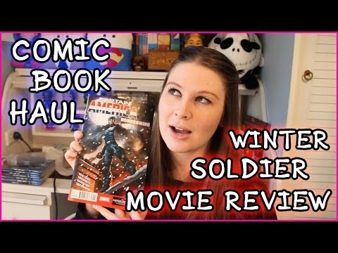 ANOTHER OVERSEAS COMIC HAUL & CAPTAIN AMERICA WINTER SOLDIER MOVIE REVIEW