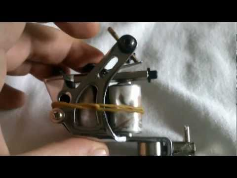 Tema 1 La máquina de tatuar y sus partes