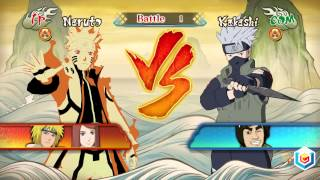 Naruto Shippuden Ultimate Ninja Storm Revolution Demo