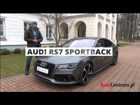 [PL] Audi RS7 Sportback 4.0 TFSI 560 KM, 2013 - test AutoCentrum.pl