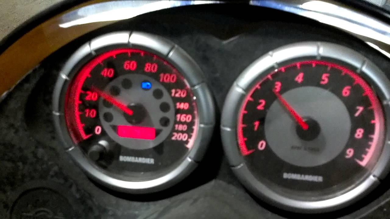 Ski Doo Rev Speedometer Problem Help