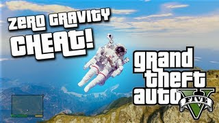 GTA 5 Cheats Moon Gravity! (NEW GTA V Cheat Codes)