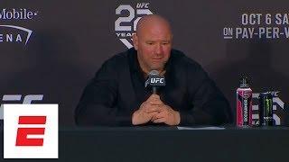 Dana White UFC 229 Post-fight Press Conference
