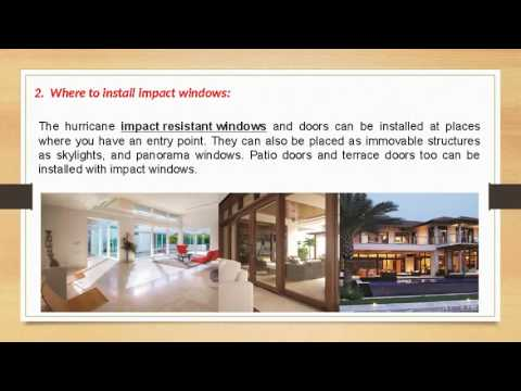 Top 6 Installation Tips for Modern Impact Resistant Windows