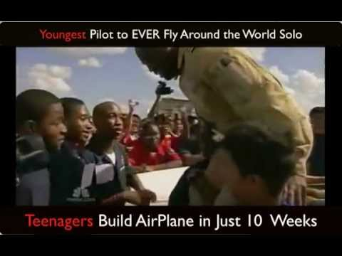 Yougest Pilot to EVER Fly Around the World Solo