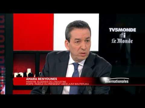 Amara Benyounes sur TV5MONDE : La tête d'Abdelaziz Bouteflika 'fonctionne très bien
