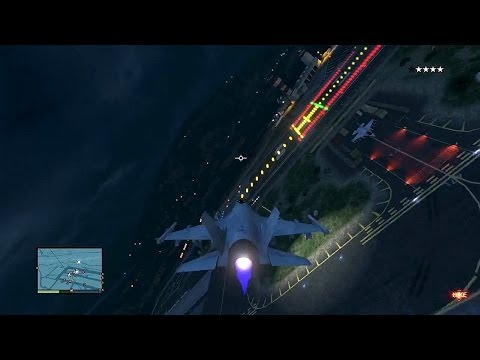 GTA 5 JET WARS!!! LiveStream - Exploring Grand Theft Auto 5 - Goofing Around GTA V