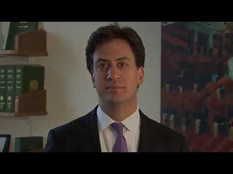 A Message from Ed Miliband
