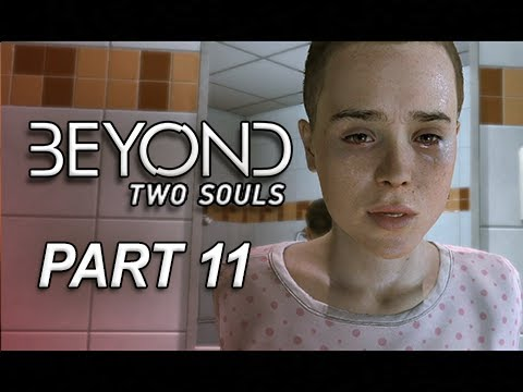 Beyond Two Souls Walkthrough Part 11 - Homeless Escape (Let's Play
