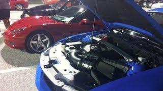 2012 Mustang 5.0 Vs Corvette Drag Race