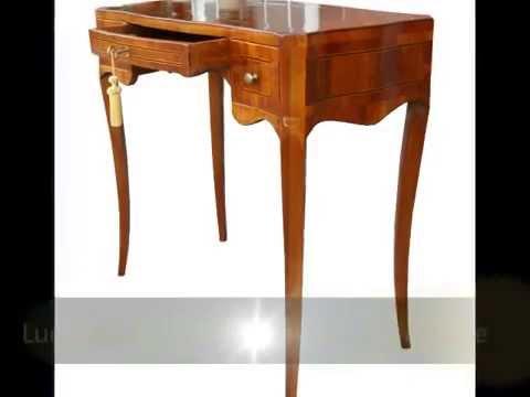 Tavolino tavolini scrittoio scrittoi classici arte povera stile antico lastronati e lucidati a - Cucine stile arte povera ...