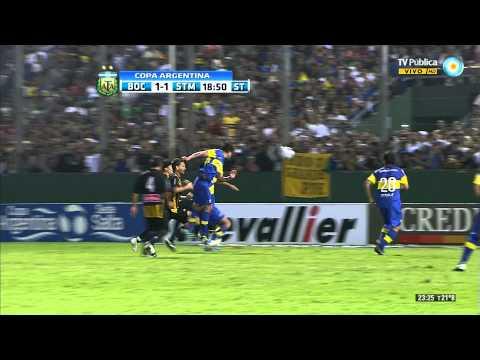 Boca 1 (4) - Santamarina 1 (3) - Copa Argentina 2012