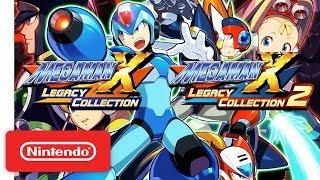 Mega Man X Legacy Collection 1 & 2 Pre-Order Trailer - Nintendo Switch