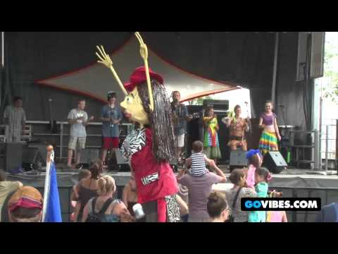 "Andy The Music Man Performs ""Alligator In The Elevator"" at Gathering of the Vibes 2011"