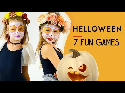7 funny games for children for halloween party