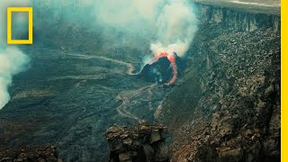 Journey Into an Active Volcano | One Strange Rock