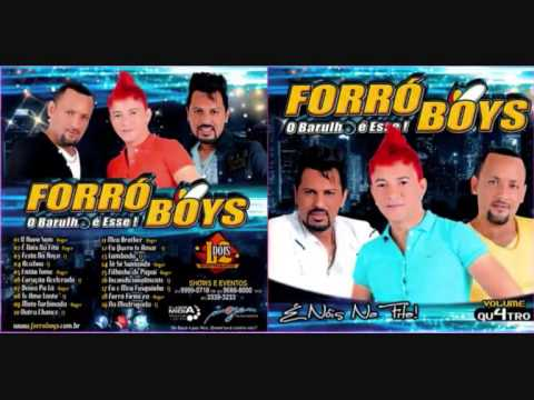 Forró Boys - Vol 4 - Cd Completo - 2013