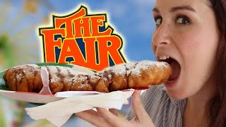 WE TRY New York State FAIR FOOD
