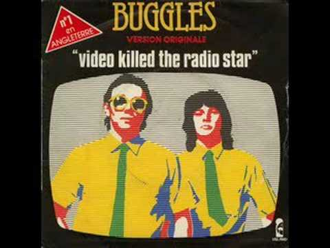 The Buggles, Video Killed The Radio Star (With Lyrics
