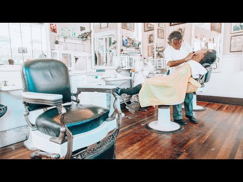 The Chilean Barber Shave (The Nomad Barber)