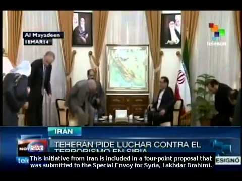 Iran submits proposal on Syria to Lakhdar Brahimi