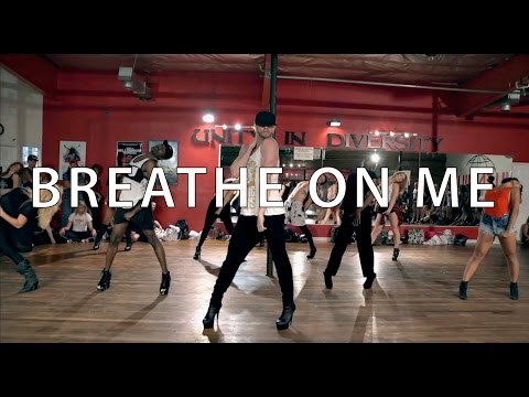 Breathe On Me / Britney Spears - Choreography by Brian Friedman & Yanis Marshall - Heels Class LA
