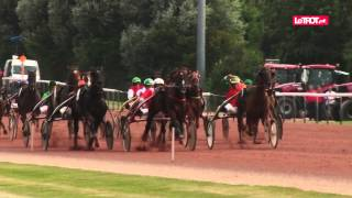 Grand Grand Prix de le Ville de Cabourg 2014 - Jean-Michel Bazire fait le spectacle